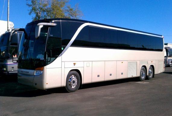 Custom Coach Bus Charters